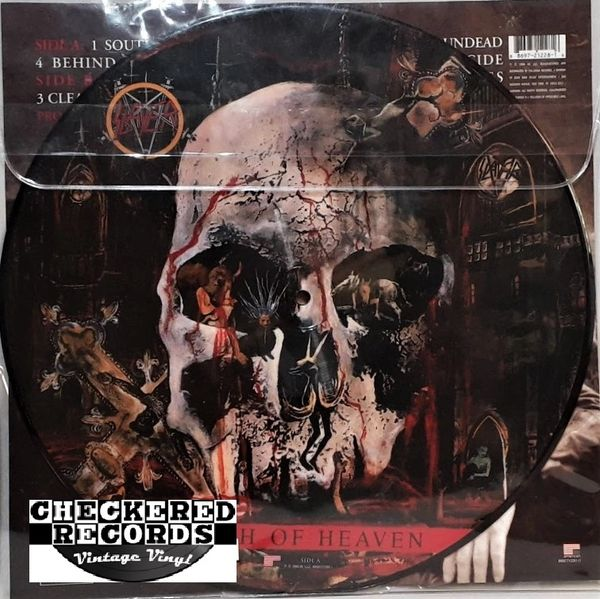 Slayer South Of Heaven 2007 US American Recordings 88697212281-1 Vintage Vinyl Record Album