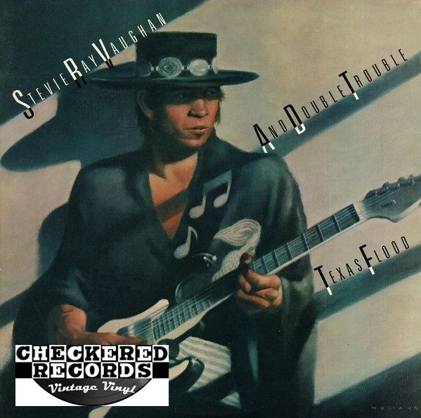 Stevie Ray Vaughan And Double Trouble Texas Flood First Year Pressing 1983 US Epic ‎BFE 38734 Vintage Vinyl Record Album