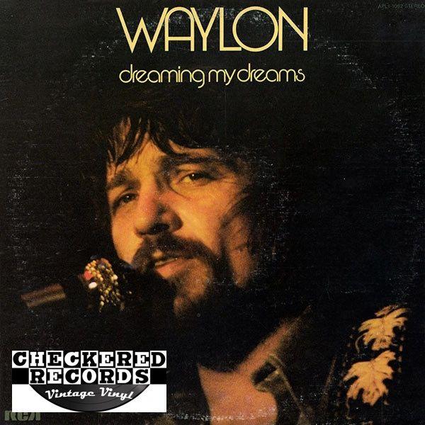 Waylon Dreaming My Dreams First Year Pressing 1975 US RCA Victor APL1-1062 Vintage Vinyl Record Album
