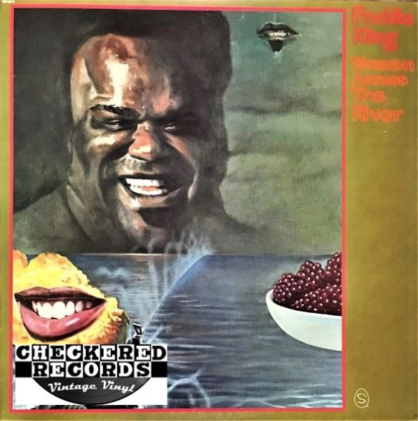 Freddie King Woman Across The River First Year Pressing 1973 US Shelter Records SW-8919 Vintage Vinyl Record Album