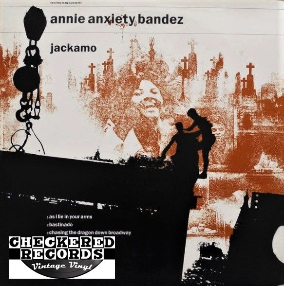 Annie Anxiety Bandez Jackamo First Year Pressing 1987 UK One Little Indian TPLP 4 Vintage Vinyl Record Album