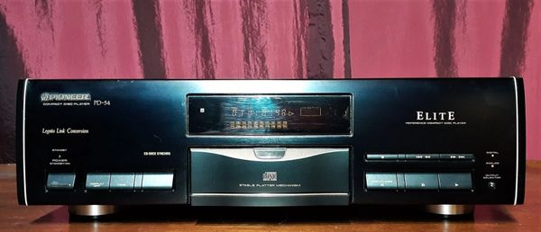 1993 Pioneer Elite PD-54 Stereo CD Player Compact Disc Player Tested Excellent