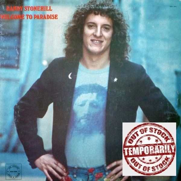 Vintage Randy Stonehill Welcome To Paradise First Year Pressing 1975 US Solid Rock Records SRA 2002 Vintage Vinyl LP Record Album