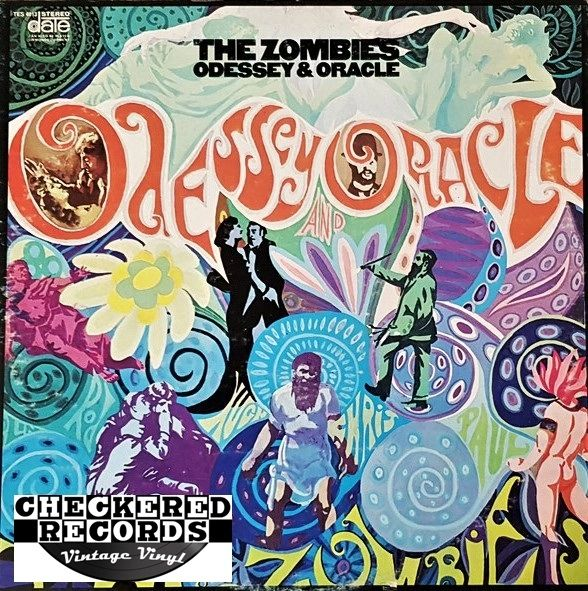 The Zombies Odessey And Oracle First Year Pressing 1968 US Date TES 4013 Vintage Vinyl Record Album