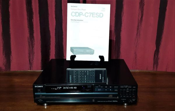 1988 Sony CDP-C7ESD Compact Disc Player CD Player