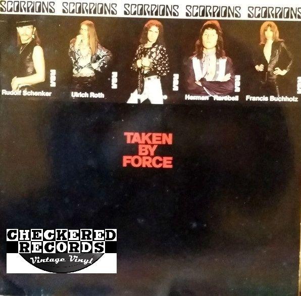 Vintage Scorpions Taken By Force Germany 1983 RCA PL 70 081 Vintage Vinyl LP Record Album