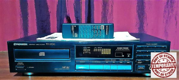 1991 Pioneer PD-5700 Compact Disc Player CD Player