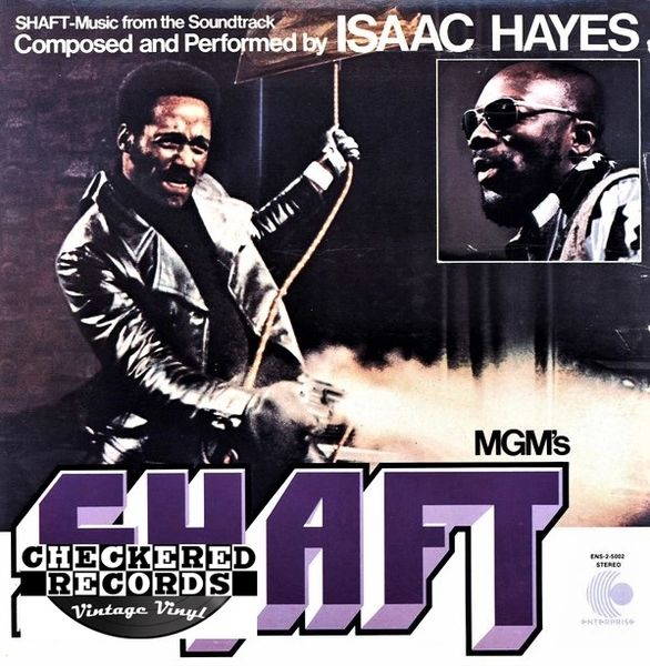 Isaac Hayes Shaft First Year Pressing 1971 US Enterprise ‎ENS-2-5002 Vintage Vinyl Record Album