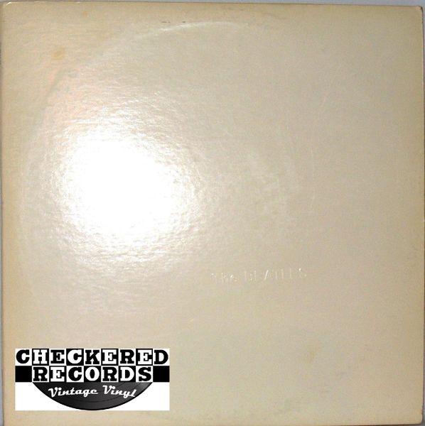 The Beatles The Beatles White Album 1971 US Apple Records SWBO 101 Vintage Vinyl Record Album