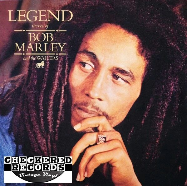 Bob Marley & The Wailers ‎Legend 1986 US Island Records 90169-1 Vintage Vinyl Record Album