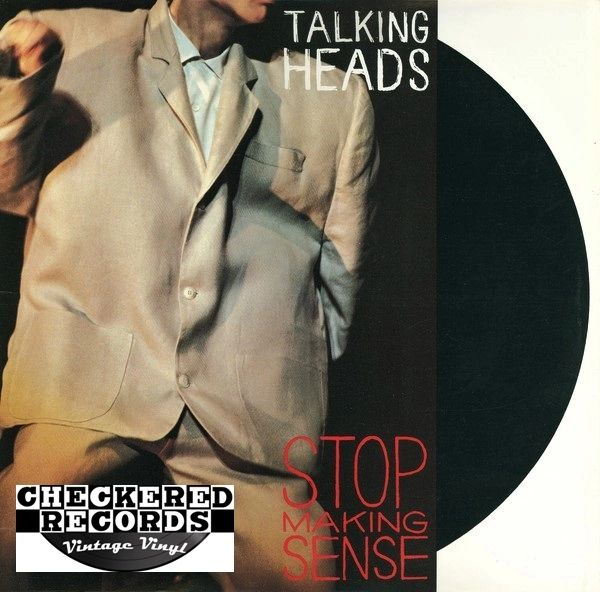 Talking Heads Stop Making Sense First Year Pressing 1984 US Sire ‎1-25186 Vintage Vinyl Record Album