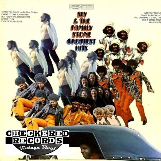 Sly & The Family Stone Greatest Hits First Year Pressing 1970 US Epic KE 30325 Vintage Vinyl Record Album