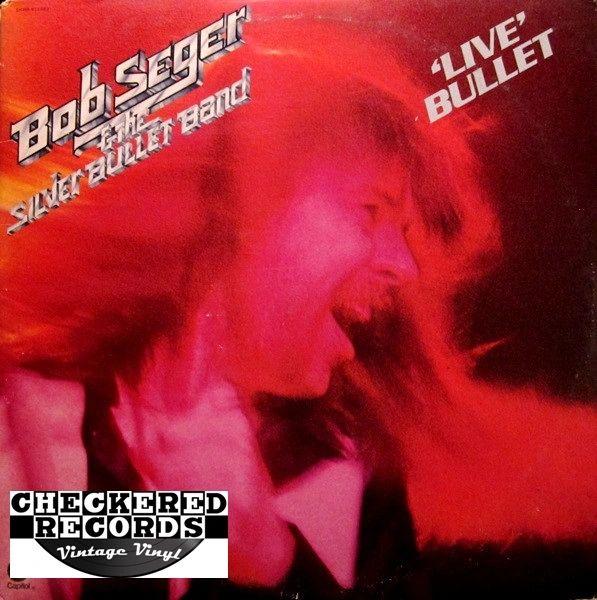 Bob Seger & The Silver Bullet Band Live Bullet First Year Pressing 1976 US Capitol Records SKBB-11523 Vintage Vinyl Record Album