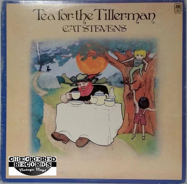 Cat Stevens Tea For The Tillerman 1973 US A&M Records SP 4280 Vintage Vinyl Record Album