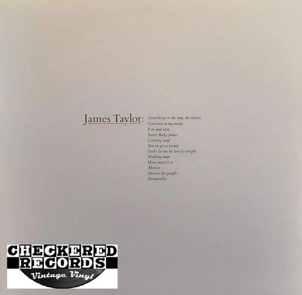 James Taylor James Taylor's Greatest Hits 1983 US Warner Bros. Records BSK 3113 Vintage Vinyl Record Album