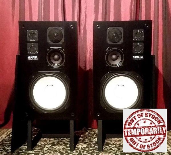 Vintage 1979 Yamaha NS-344 3-Way Studio Reference Monitors Speakers