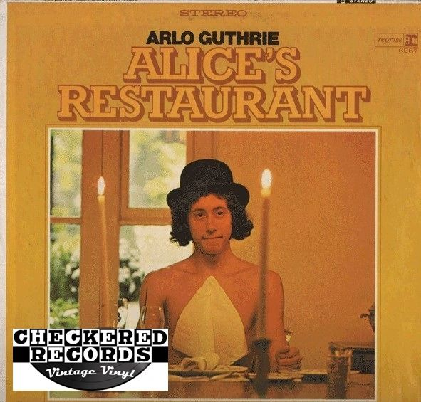 Arlo Guthrie Alice's Restaurant 1968 US Reprise Records RS-6267 Vintage Vinyl Record Album
