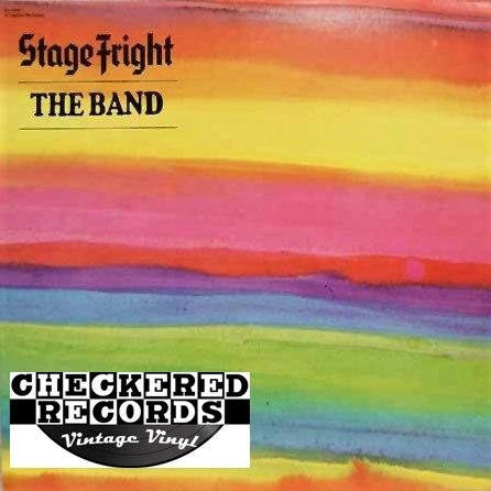 The Band Stage Fright First Year Pressing 1980 US Capitol Records SN-16006 Vintage Vinyl Record Album