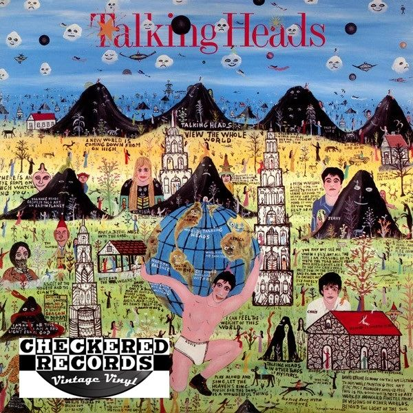 Talking Heads ‎Little Creatures First Year Pressing 1985 US Sire 1-25305 Vintage Vinyl Record Album