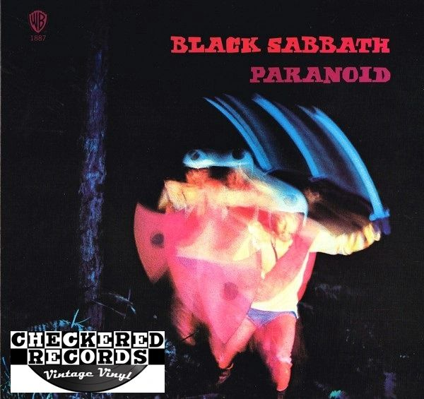 Black Sabbath Paranoid First Year Pressing 1971 US Warner Bros. Records WS 1887 Vintage Vinyl Record Album