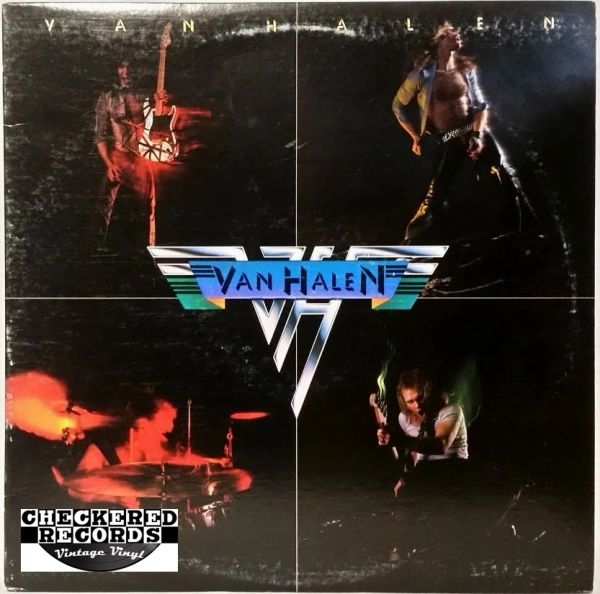 Van Halen ‎Van Halen Self Titled First Year Pressing Pinstripe Label 1978 US Warner Bros. Records ‎BSK 3075 Vintage Vinyl Record Album