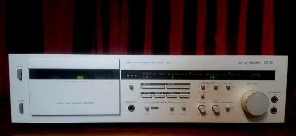 Harman Kardon CD191 Ultra Wideband Linear Phase Cassette Tape Deck