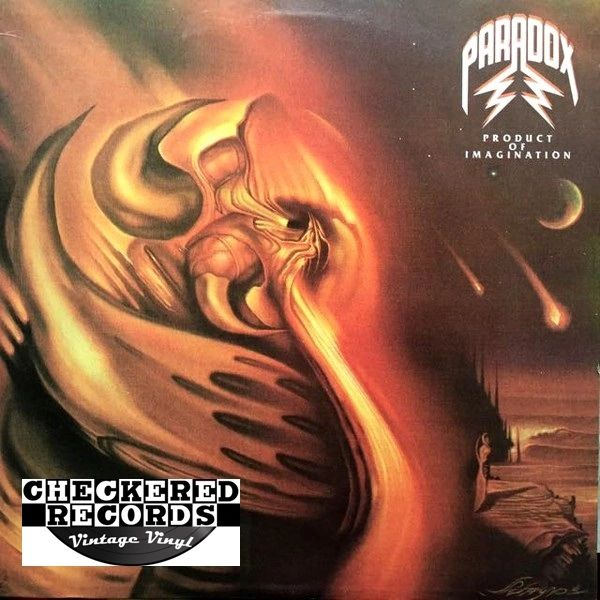 Vintage Paradox Product Of Imagination First Year Pressing 1987 US Roadracer Records RR 9593 Vintage Vinyl LP Record Album