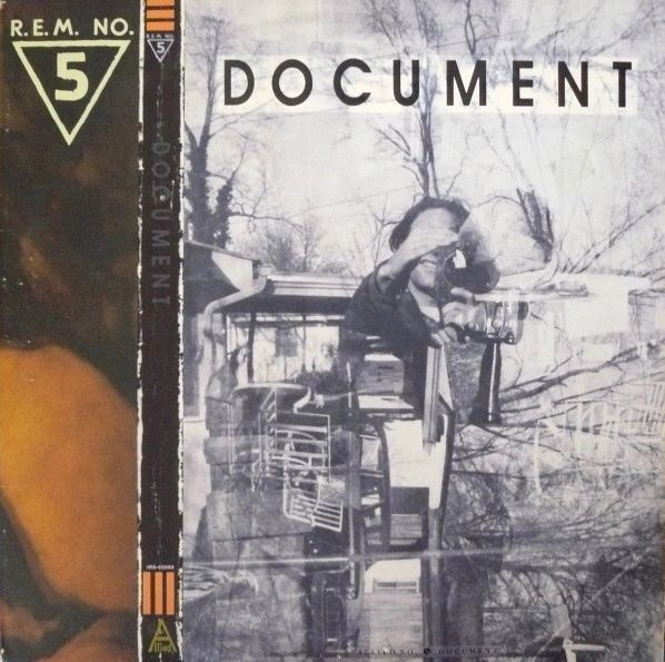 R.E.M. Document First Year Pressing 1987 US I.R.S. Records IRS-42059 Vinyl LP Record Album