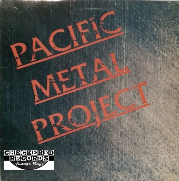 Vintage Pacific Metal Project With Insert Compilation First Year Pressing 1985 US Restless Records 72075-1 C.O.M.A. Records Vintage Vinyl LP Record Album