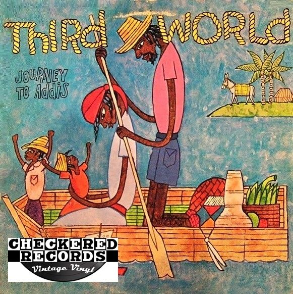 Third World ‎Journey To Addis First Year Pressing 1978 US Island Records ILPS 9554 Vintage Vinyl Record Album