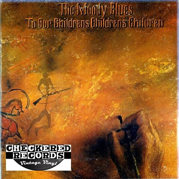 Vintage The Moody Blues To Our Children's Children's Children First Year Pressing 1969 US Threshold Records THS 1 Vintage Vinyl LP Record Album