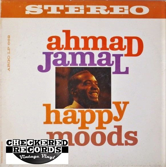 Ahmad Jamal Happy Moods First Year Pressing 1960 US Argo LPS 662 Vintage Vinyl Record Album