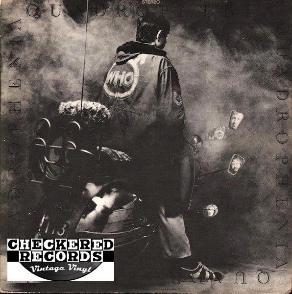 The Who Quadrophenia First Year Pressing 1973 US Track Record MCA2-10004 Vintage Vinyl Record Album