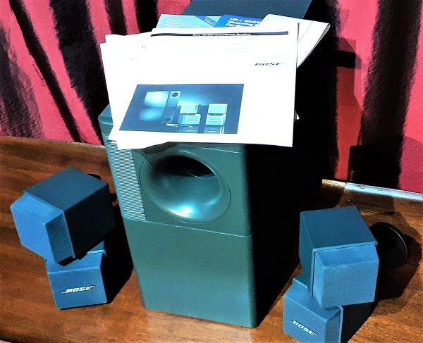 1995 Bose AM 500 Acoustimass Speaker System Complete