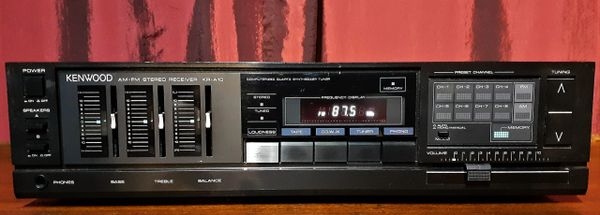 1985 Kenwood KR-A10 AM/FM Stereo Receiver