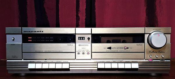 Marantz DA-2452 SG Collector's Edition Gold Dual Cassette Tape Deck