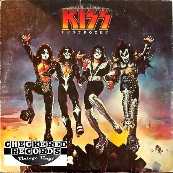 Kiss Destroyer First Year Pressing 1977 US Casablaca NBLP 7025 Vintage Vinyl LP Record Album