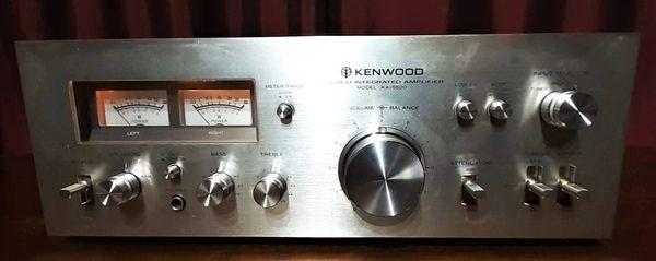 1977 Kenwood KA-5500 Stereo Integrated Amplifier