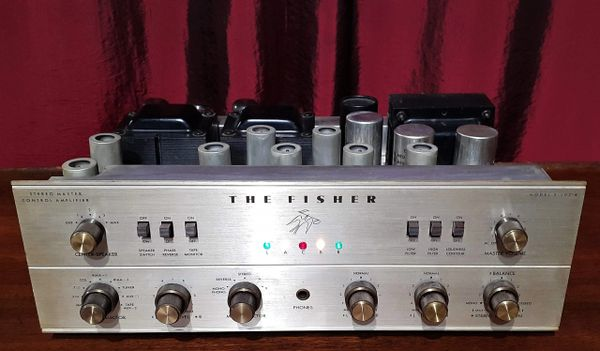 The Fisher X-202-B Tube Amplifier Fisher x-202-B Stereo Integrated Tube Amp