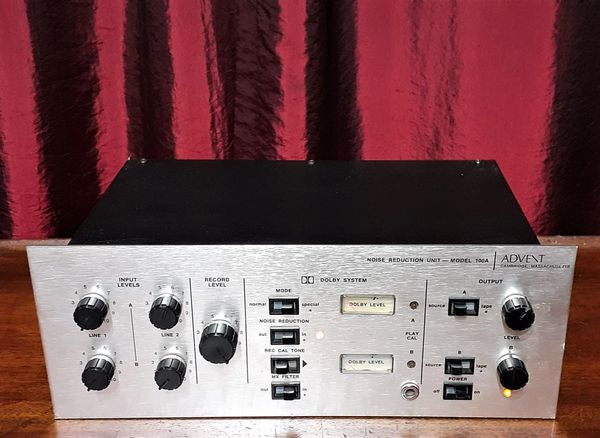 Advent 100A Noise Reduction Unit 1972 Silver