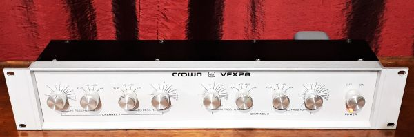 Crown VFX2A Crossover Two Way Crossover 1978 Silver