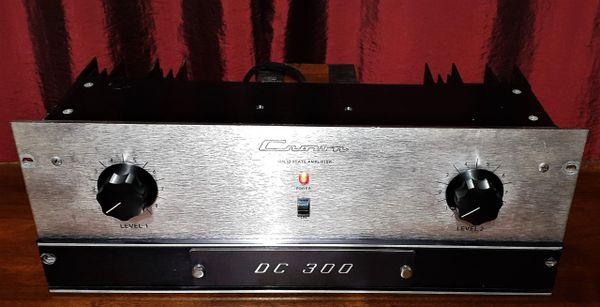 Crown DC-300 Dual Channel Amplifier 1975 Silver