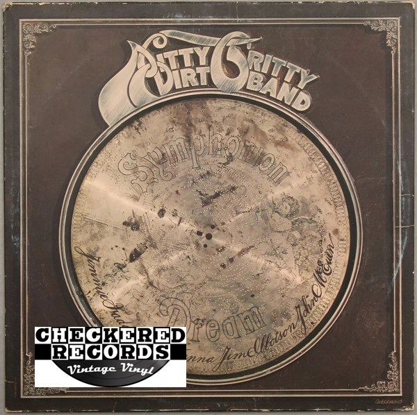 Vintage Nitty Gritty Dirt Band Dream United Artists Records UA-LA469-G Vintage Vinyl LP Record Album