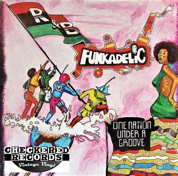 Funkadelic One Nation Under A Groove First Year Pressing 1978 US Warner Bros. Records BSK 3209 Vintage Vinyl Record Album