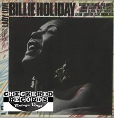 Vintage Billie Holiday Lady Love 1972 Pressing 1072 US United Artists Records UAS 5635 Vintage Vinyl LP Record Album