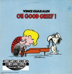 Vintage Vince Guaraldi Oh, Good Grief! Warner Bros. Records WS 1747 LP Vinyl Record Album