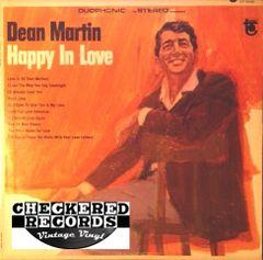 Vintage Dean Martin Happy In Love First Year Pressing 1966 US Tower DT-5036 Vintage Vinyl LP Record Album