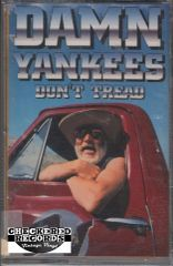 Vintage Damn Yankees Don't Tread Warner Bros. Records 9 45025-4 Cassette Tape