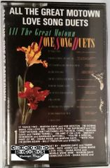Vintage Motown Compilation All The Greatest Motown Love Song Duets 1985 US Motown MCM 05356 Cassette Tape