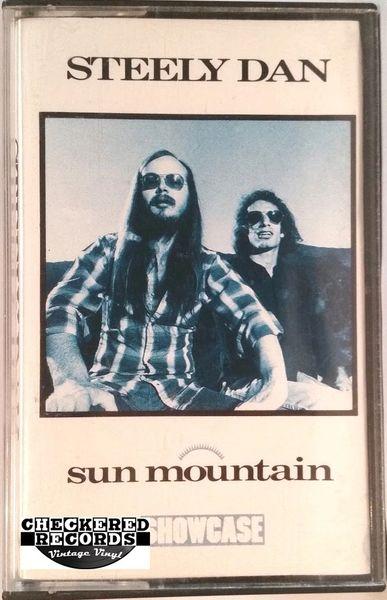 Vintage Steely Dan ‎Sun Mountain 1985 US Showcase SHTC 128 Cassette Tape